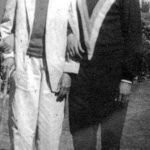 Amrish Puri With His Father (Left)