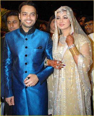 Farhan Azmi wedding picture