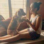 Shrishti Ganguly Rindani dog lover