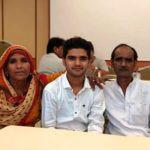 Salman Ali With His Parents