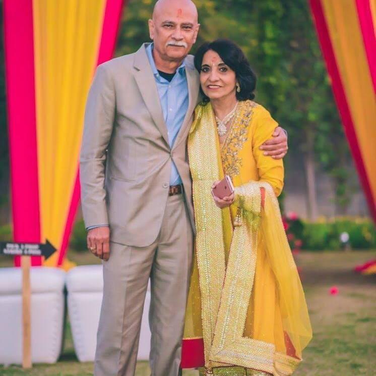 Monicka Vadera Poonawalla's Parents
