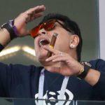 Diego Maradona seen smoking in 2018 FIFA World Cup