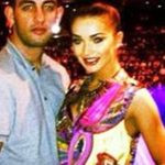 Amy Jackson with her Ex-boyfriend Joe Selkirk