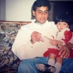 Elixir Nahar with her father