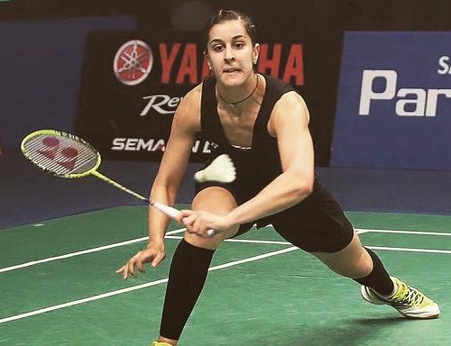 Carolina Marin Playing