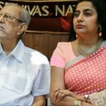 Suhasini With Her Father