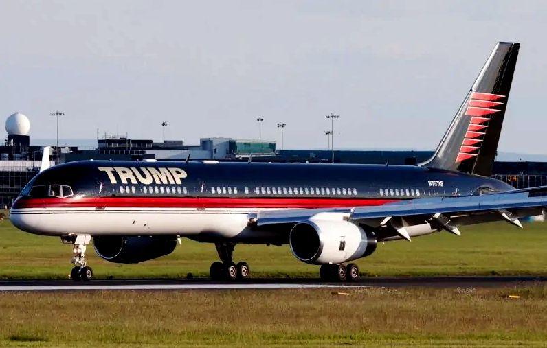 Donald Trump's Boeing 757