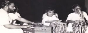 Roop Kumar Rathod Playing the Tabla in his Childhood