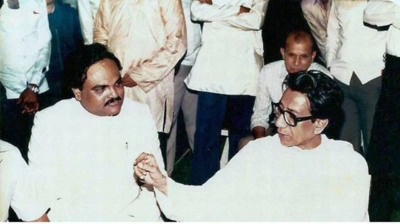 Bal Thackeray With Chhagan Bhujbal
