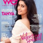 Tanya Ravichandran on cover of 'We' magazine