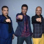 Naved Jaffery with Javed and Ravi