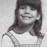 Sandra Bullock in her childhood