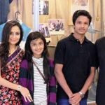 Naveen Jindal with his Wife and Children