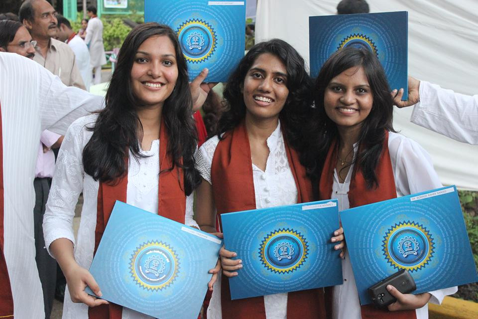 Sonal Chouhan With Her Degree From IIT Bombay