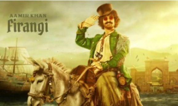 Aamir Khan as Firangi in Thugs of Hindostan