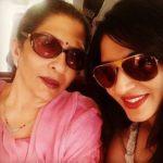 Ashlesha Sawant with her mother Mangala Savant