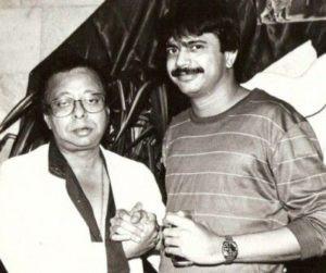R. D. Burman with Journalist Chaitanya Padukone