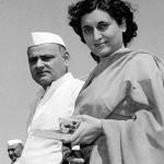 Indira Gandhi with  her husband Feroze