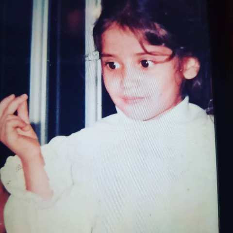 Arti Singh's childhood picture