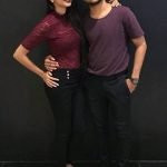 Sagar Bora with Melissa Jangam