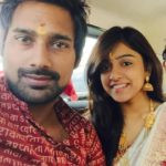 Vithika Sheru with her husband