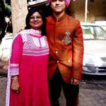 Rohan Shah with his mother Smita Shah