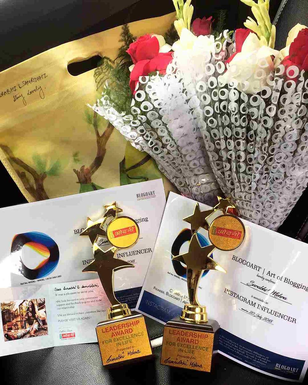 Surabhi Mehra, Award
