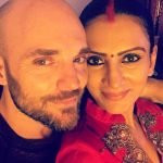 Prianca Sharma with her husband Marc Mead