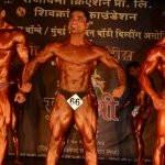 Rakesh Udiyar in bodybuilding championship