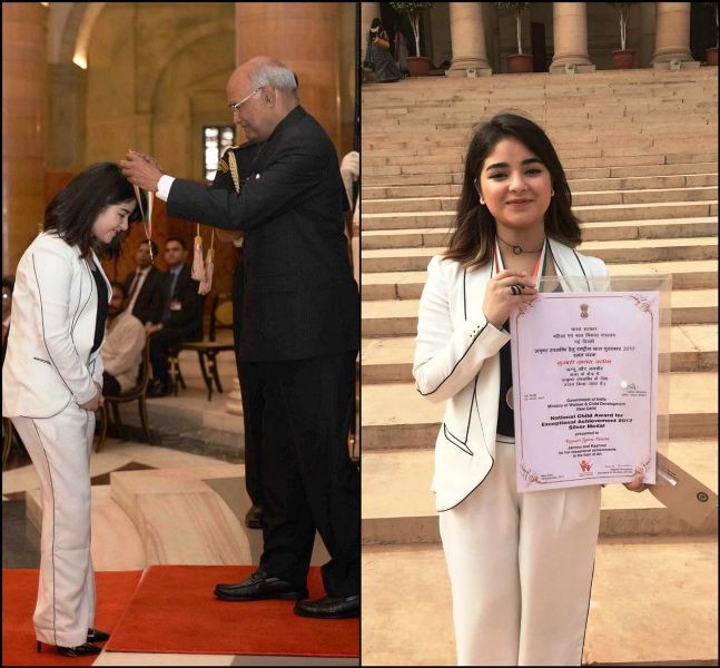 Zaira Wasim - National Award