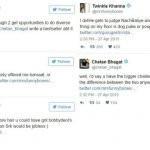 Chetan Bhagat Twinkle Khanna controversy
