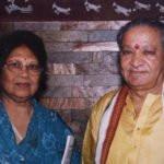 Hariprasad Chaurasia With his Wife Anuradha Roy