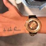 Nia Sharma Tattoo On Her Left Hand