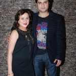 Ritu with her husband Harsh Vasishth