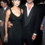 Demi Moore with her husband Bruce Willis