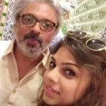 Sharmin With Her Uncle Sanjay Leela Bhansali