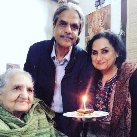 Jannabi Das' parents and her grandmother