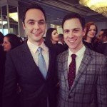 Jim Parsons with Todd Spiewak