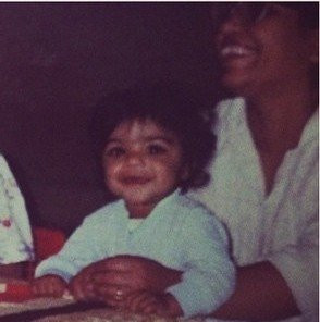 Vini Raman's childhood picture
