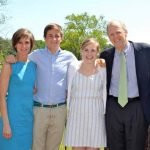 Sally Yates with her family