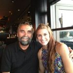 Alex Morgan With Her Father