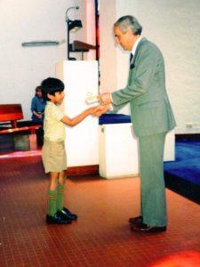 Akshay Venkatesh School Days