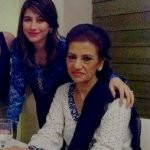 Syra Yousaf with her mother