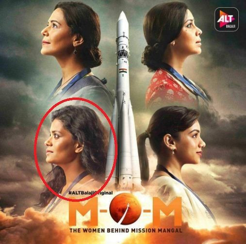 """Palomi Ghosh in """"M.O.M.-Mission Over Mars"""""""
