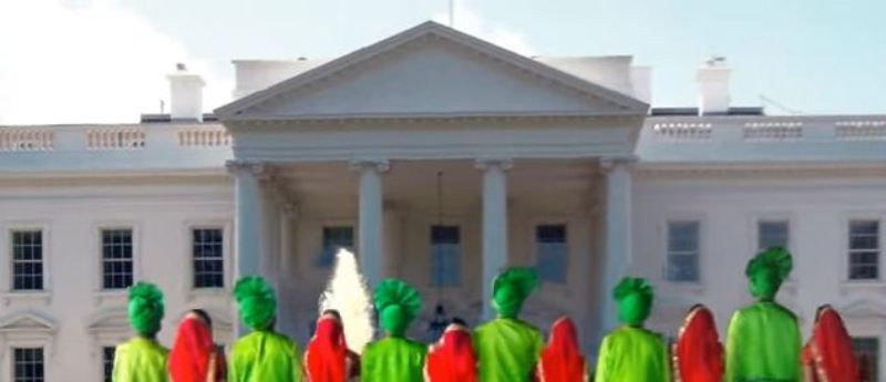 Bhangra Empire In Front Of White House