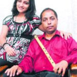 Poorvi Koutish With Her Father