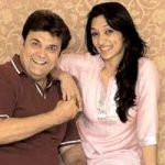 Rasik Dave with his daughter Riddhi Dave