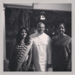 Parakala Prabhakar with his wife and daughter