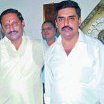 Nallari Kiran Kumar Reddy With His Brother