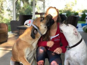 Ronda Rousey With Her Pets